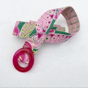Vera Bradley Belt Pinwheel Pink